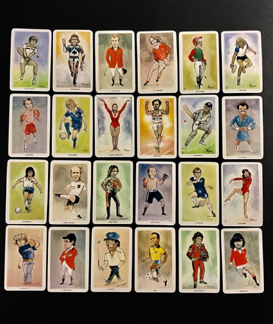 Lot of 24 Rare Early Sports All-Stars Tobacco Cards