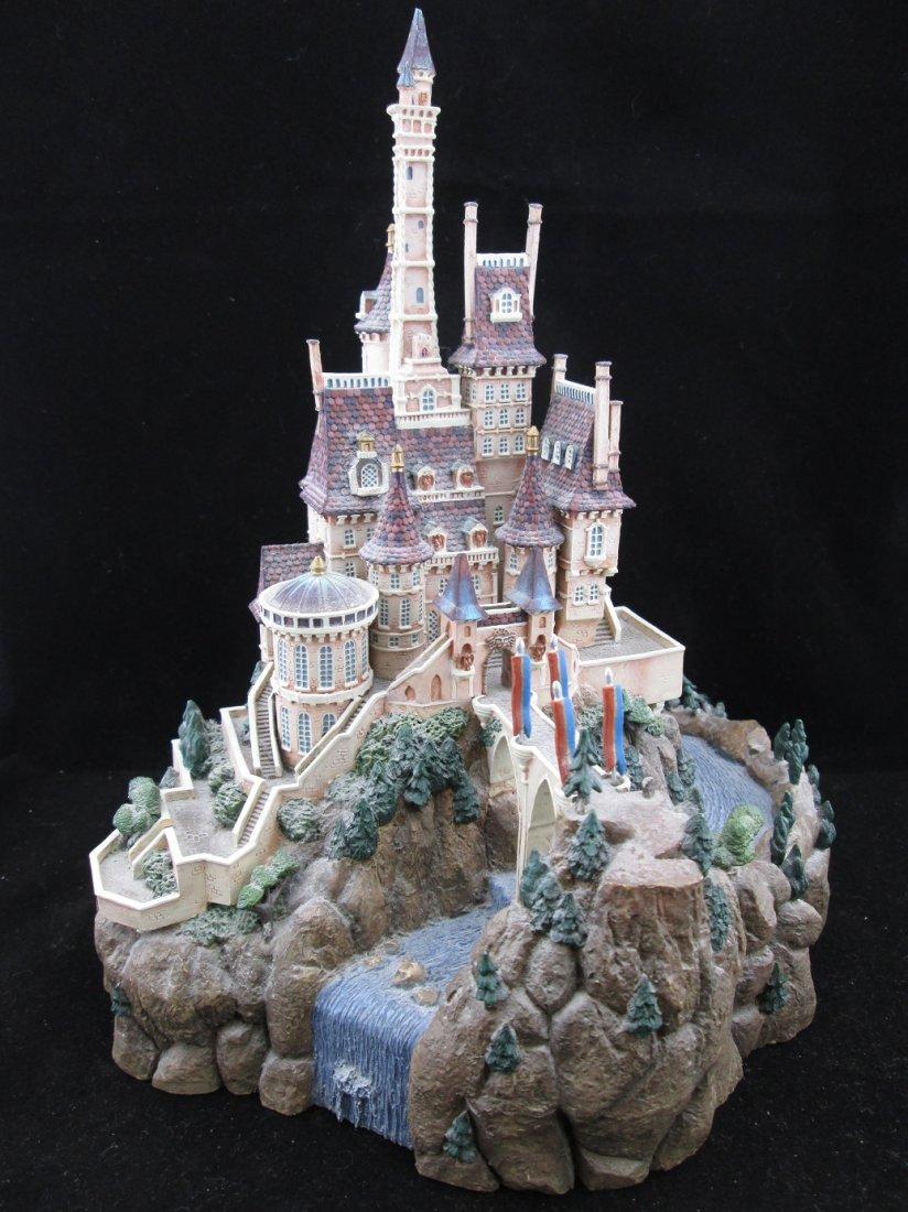 Disney Enchanted Places The Beast's Castle Ltd Ed.