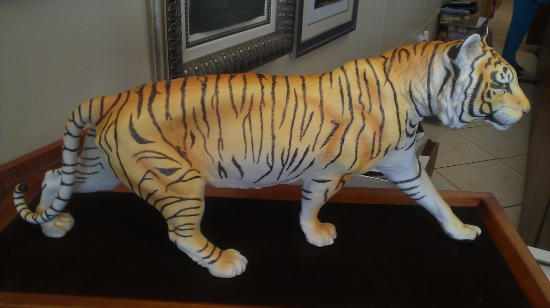 """Franklin Mint """"On The Prowl"""""""