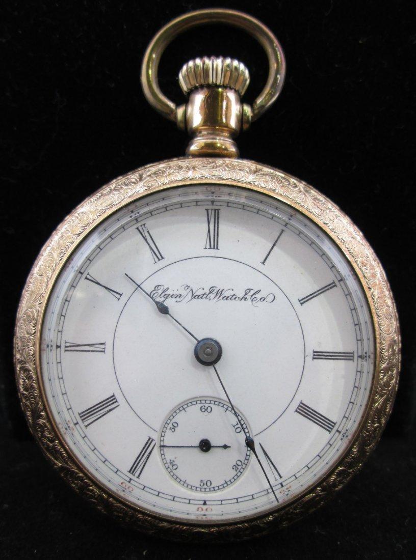 1898 Large Elgin Pocket Watch
