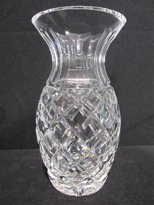Waterford Crystal 7 Pineapple Shape Vase