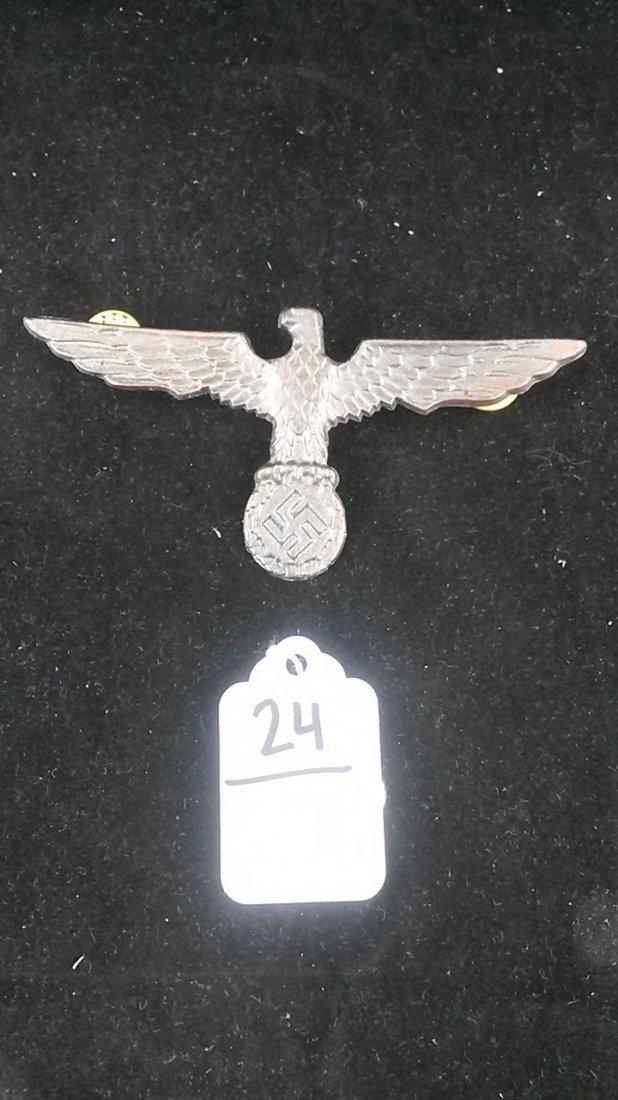 Nazi German WWII Sawstika Hat Pin