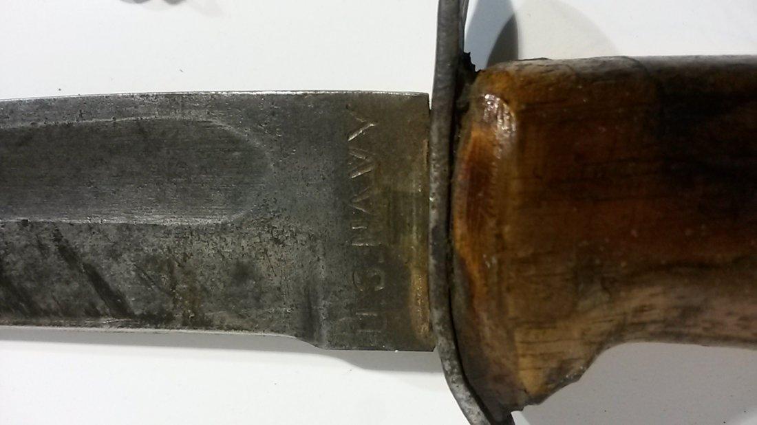 US WWII PAL-RH-37 Navy USN MK2 Knife - 3
