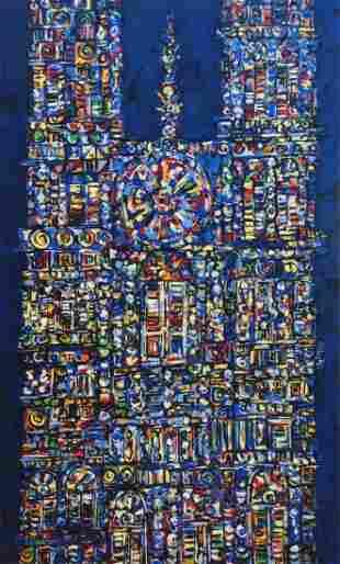Rene Portocarrero (Cuban 1912-1985)