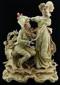 Large Vintage Hand Painted KPM Porcelain Vicotiran