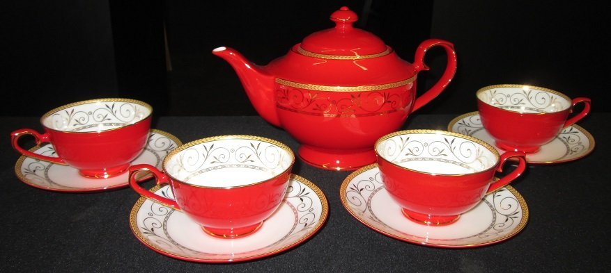 Teavana Bone China Tea Set