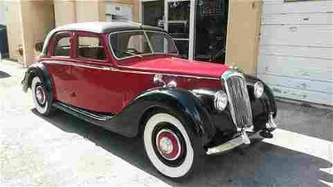 1951 Riley RMA 1.5 Saloon