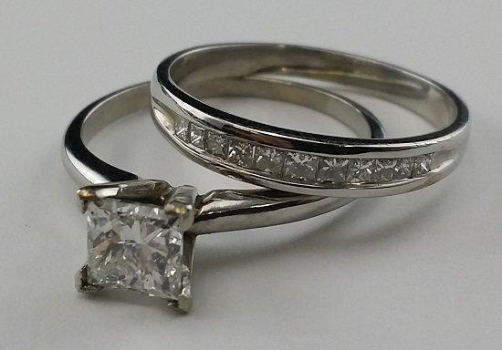 Beautiful 14kt White Gold Diamond Engagement Rings