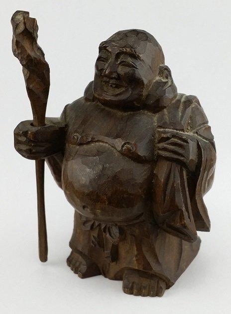 19th Century Chinese Hand Carved Buddha