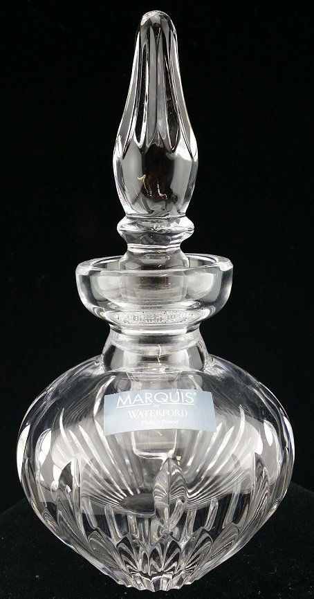 "5.5"" Waterford crystal perfume bottle"