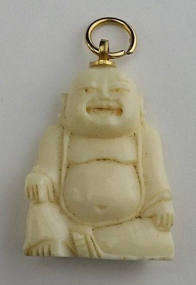 Preban ivory buddha pendant vintage preban ivory buddha pendant mozeypictures Choice Image