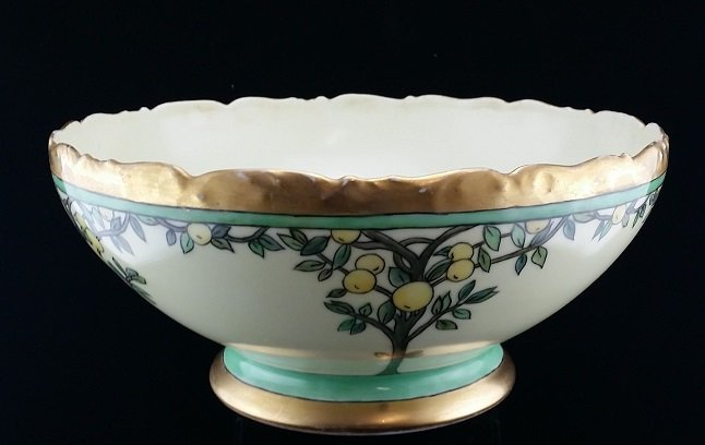 Early 20th Cen. German Porcelain Hand Painted Bowl
