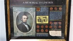 Abraham Lincoln Commemorative Coin Set