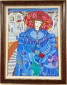 Jose Maria Mijares Cuban Oil on Canvas