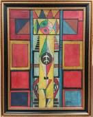 Jose Maria Mijares Cuban 1994 Oil on Canvas