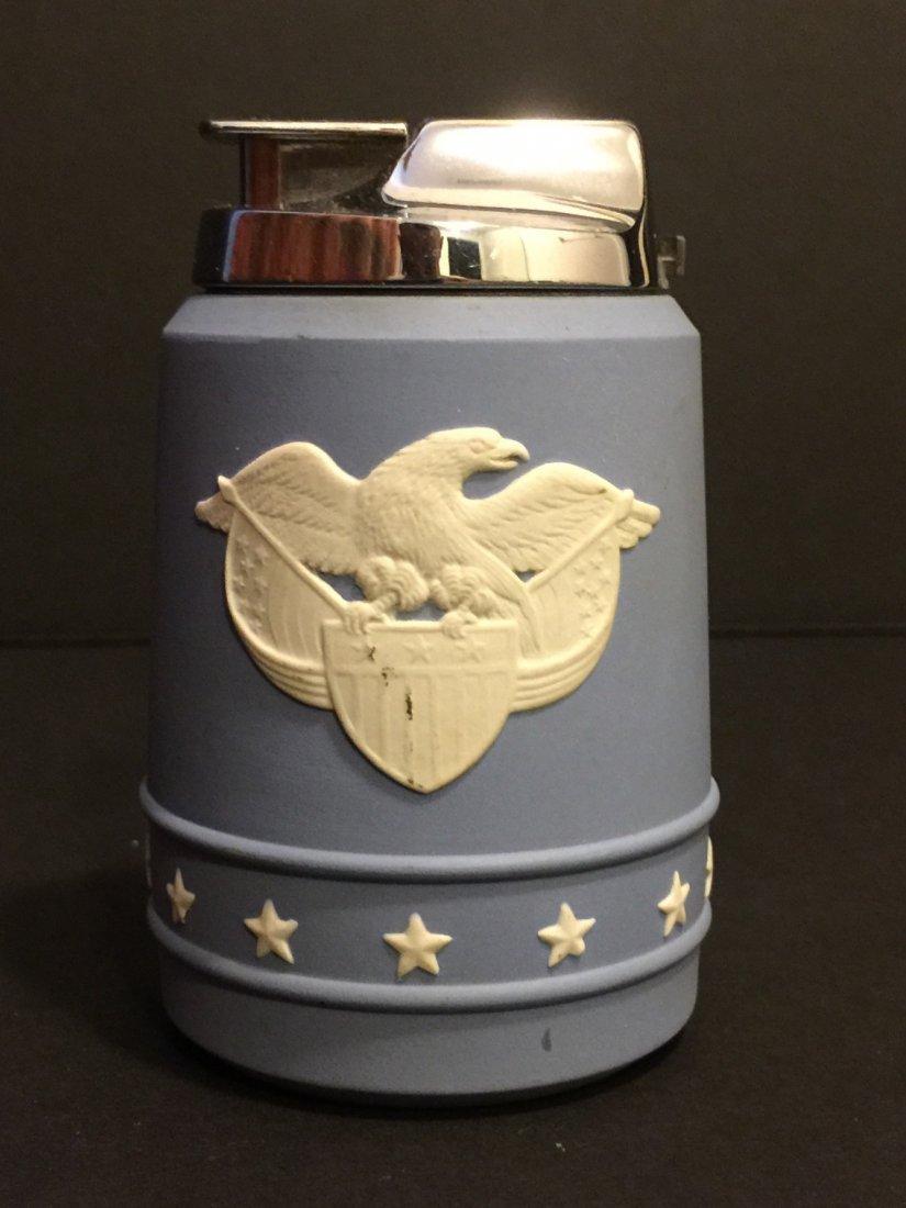 Rare WEDGWOOD Eagle/Stars Executive Table Lighter