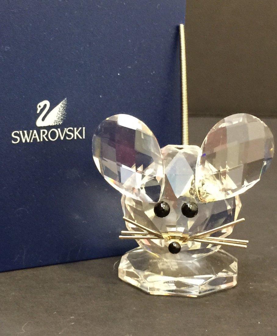 Genuine SWAROVSKI Crystal Silver Collection Mouse