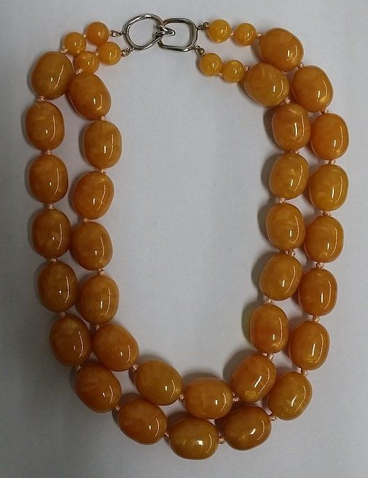 Very Large Amber Necklace