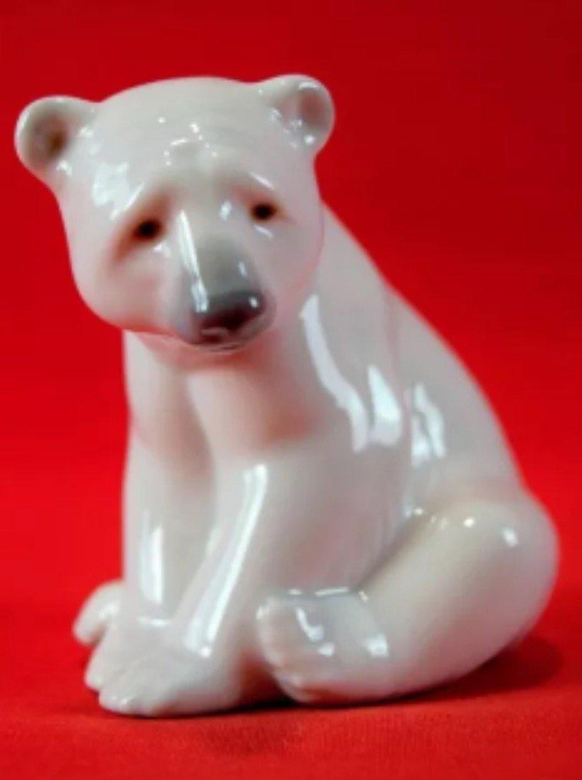 Vintage Retired LLADRO Porcelain Polar Bear