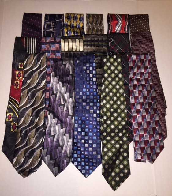 Lot of 17 NEW Top End Department Store Neck Ties