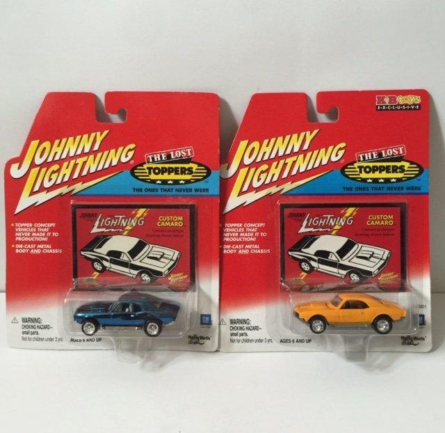 2 Vtg JOHNNY LIGHTNING/Lost Topper Series Cars