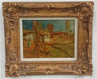 Oil on Canvas Signed Don F. Palmerton