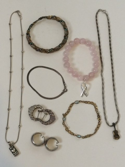 LG Lot of Vintage Wearable STERLING Silver Jewelry