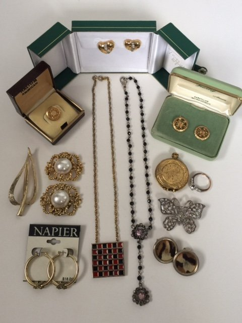 Lot of all Signed Vintage Costume Jewelry