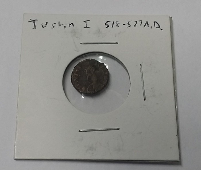 Authentic ancient Roman coin