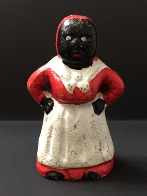 "Cast Iron Aunt Jemima ""Mammy"" Coin Bank"