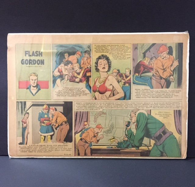 Rare 1944 Original FLASH GORDON Comic Strip
