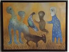 Manuel Mendive 2002 Acrylic on Canvas