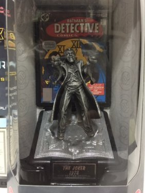 Awesome Silver Age The Joker Fine Pewter Figure