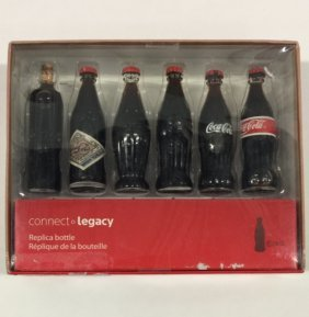 1900 To 1957 Evolution Of Coca-cola Glass Bottles