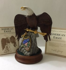 "Large ""american Eagle"" By Ronald Van Ruyckevelt"