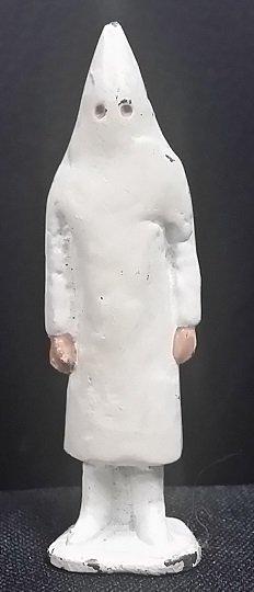 Very Rare Ku Klux Klan (KKK) Lead Toy Figure