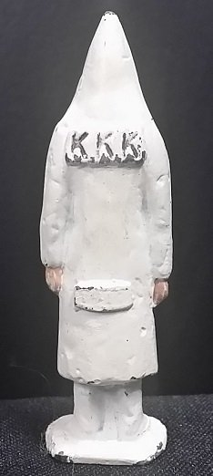 Very Rare Ku Klux Klan (KKK) Lead Toy Figure - 2