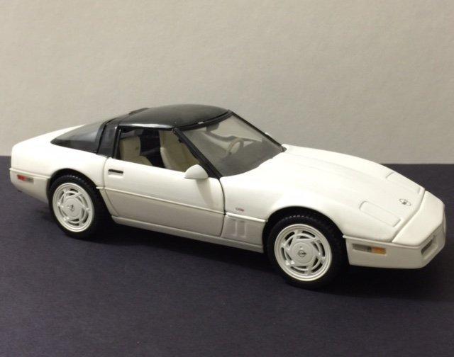 FRANKLIN MINT Die-Cast Car - 1988 T-Tops CORVETTE