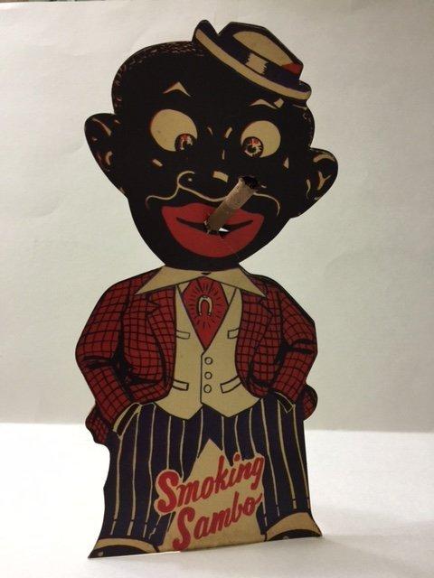 1930's Black Americana SMOKING SAMBO Advertising