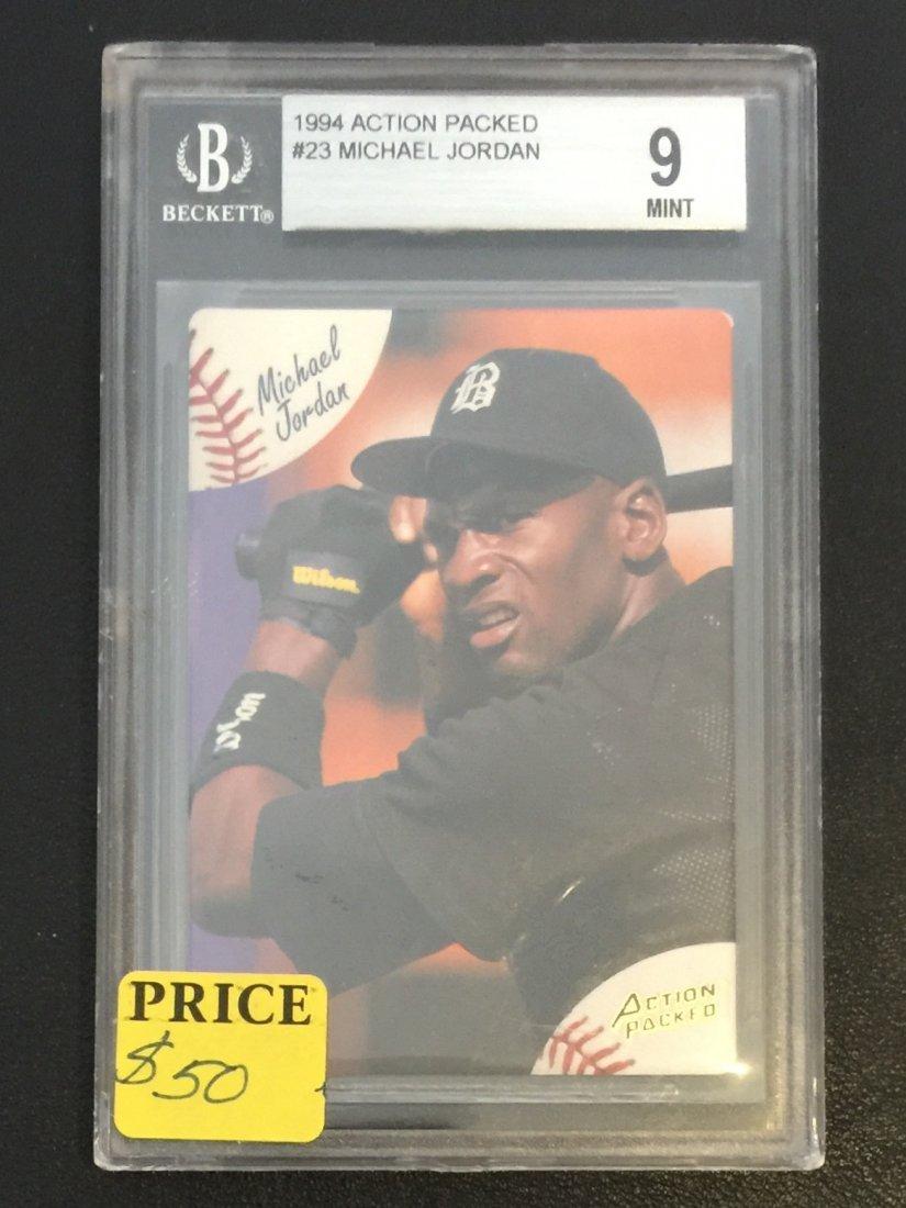 Beckett Mint Michael Jordan Rookie Baseball Card