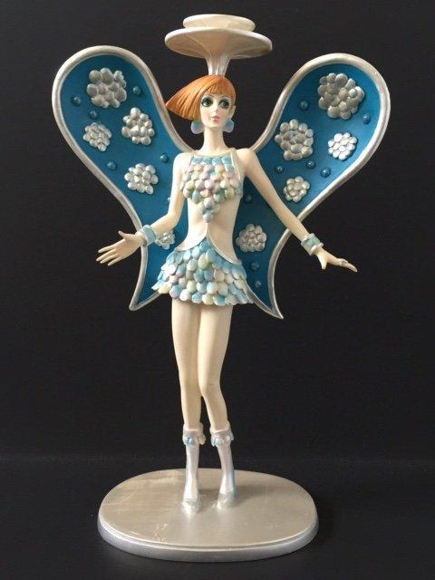 """Rare BOB MACKIE 1960's """"GIGI GALACTICA"""" Figurine"""