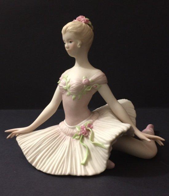 RARE Beautiful CYBIS Porcelain Ballerina Figurine