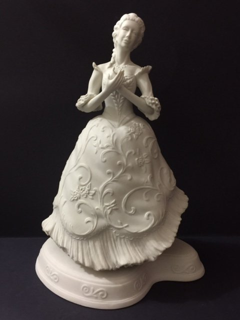 RARE Signed BOEHM Porcelain CINDERELLA at the BALL