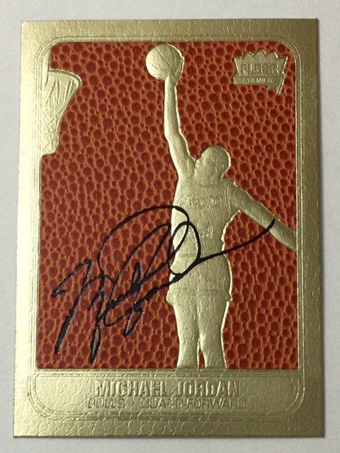 Graded 10 Michael Jordan Fleer Signed Rookie Card