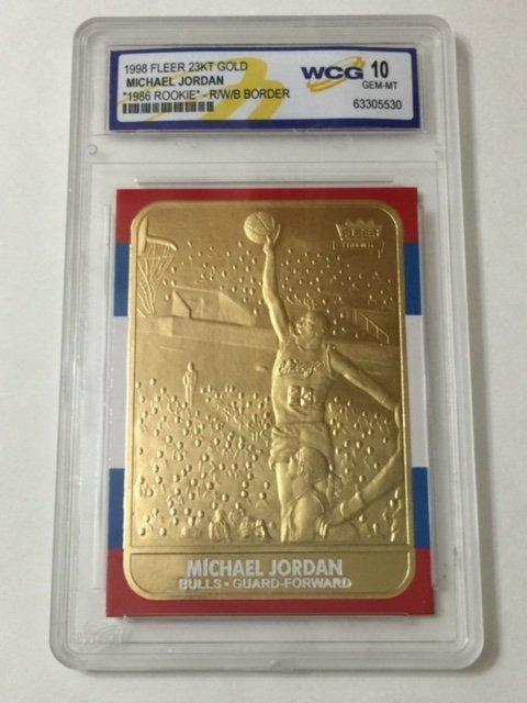 Michael Jordan Fleer Special Edition Rookie Card