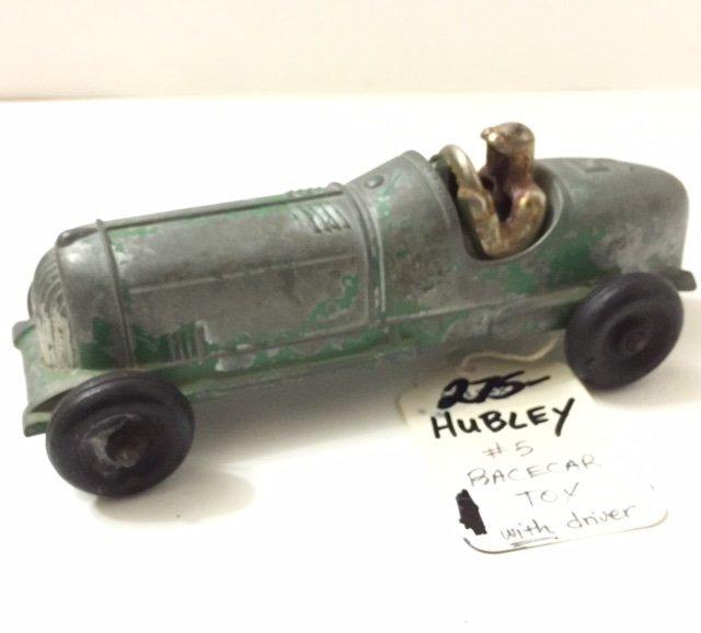 Original 1944 HUBLEY Pressed Steel SoapBox RaceCar
