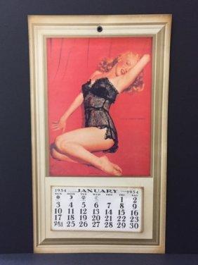 Complete 1954 Marilyn Monroe Risqué Calendar