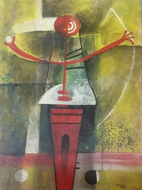 Rufino Tamayo 1971 Mixed Media on Masonite