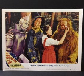The Wizard Of Oz Movie Theatre Lobby Card