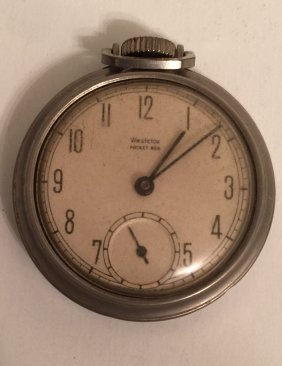 Antique Westclox Pocket Ben Pocket Watch